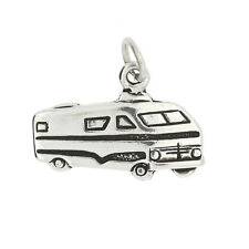 Sterling Silver  Camper RV Motor Home Charm Pendant