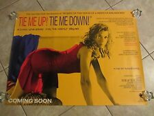 TIE ME UP TIE ME DOWN poster ALMODOVAR, VICTORIA ABRIL original uk quad