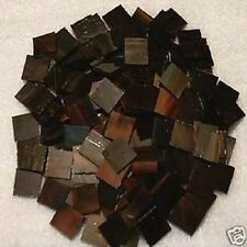 500 FRENCH ANTIQUE  MOSAIC TILE STAINED GLASS TILES ART CRAFT SUPPLIES MADE USA