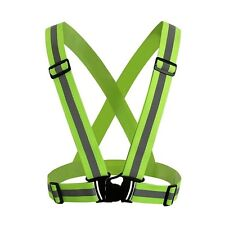 Hi Vis High Visibility Belt Reflective Vest Safety Harness Security Run Biking
