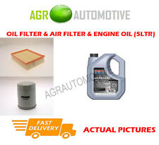 PETROL OIL AIR FILTER + SS 10W40 FOR LAND ROVER FREELANDER 2.5 177 BHP 2000-06