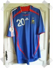 MAILLOT PORTE FRANCE - ÎLES FEROE 2006 match worn shirt  EURO  David TREZEGUET