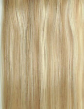 "1 GRAM 16"" 18"" 20"" 1G/S  Nano Ring Tip 100% Human Hair Extensions UK"