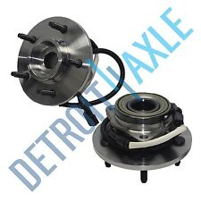 Pair of 2 - NEW Front Driver and Passenger Wheel Hub and Bearing 4WD w/ ABS