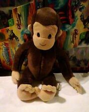 CURIOUS GEORGE PLUSH Original Curious George Stuffed Cartoon Monkey PLUSH GEORGE