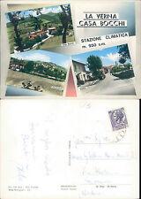 LA VERNA,BELLE VEDUTE DEL PAESE ,VIAGGIATA -F.G.-TOSCANA(AR)N.42279