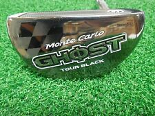 "Used RH TaylorMade Monte Carlo Ghost Tour Black 34"" Putter/ Chrome Steel Shaft"