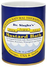 Dr. Singhas Natural Therapeutics - Mustard Bath - 8 oz.