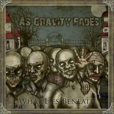 As Gravity Fades - What Lies Beneath CD WALLS OF JERICHO UNDYING ALL FOR NOTHIN