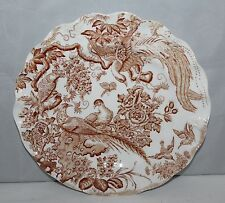 """Royal Crown Derby - Olde Avesbury - 8 3/4"""" Fluted Dessert Plate - X/1947"""