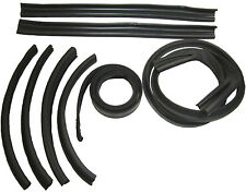1969-1970 Plymouth Fury III & Sport Fury convertible top weatherstrip seal set