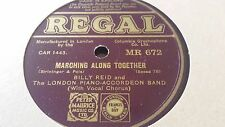 BILLY REID MARCHING ALONG TOGETHER & PAL OF MY DREAMS REGAL MR672