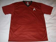 Star Trek Kelloggs Cosplay Costume 2009 MAXX Red T-Shirt Men's X-Large XL used