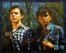 "Ralph Macchio & C. Thomas Howell 11x14 ""The Outsiders"" Autographed!!"