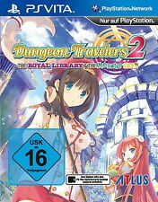 Dungeon Travelers 2 (Sony PlayStation Vita, 2015)