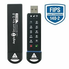 Apricorn Aegis Secure Key 3.0 - Usb 3.0 Flash Drive - 120 Gb - Usb 3.0 - 256-bit