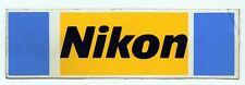 """ADESIVO/STICKER * NIKON """"  cm.15,08 x 4,08 Risalente Fine Anni 80 !"""