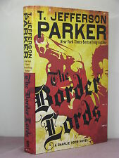 1st,signed by author,Charlie Hood 4:The Border Lords by T Jefferson Parker(2011)