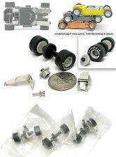 3 1993 Marchon MR-1 Racing HO Slot Car Factory Service Parts Tune Up Rear End +