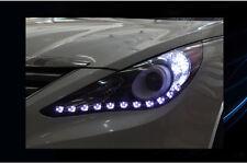 Front Head Light Lamp 2way Under Eyeline LED Module Kit for Hyundai 11-13 Sonata
