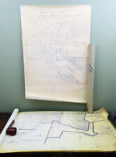 "Vintage Blueprints ""SPRING VALLEY LAKE"" Middletown, IN Map Recreational Vehicles"