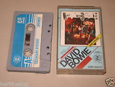 DAVID BOWIE - Never Let Me Down - MC Cassette tape 1987/1607