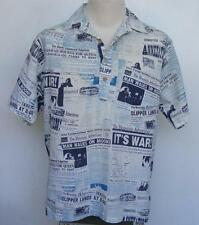 Honolulu Advertiser Shirt HI Newspaper Headlines History RARE Final Edition 1991