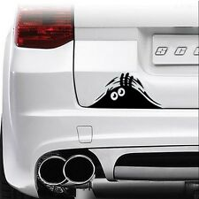 Car Sticker Vinyl Decal Funny Scary Bumper Window Bonnet Door Monster Eyes 3D