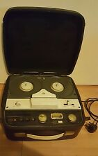 Defiant Reel to Reel tape player recorder working