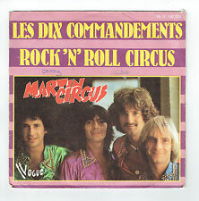 """MARTIN CIRCUS Disque 45T 7"""" ROCK 'N' ROLL CIRCUS -10 COMMANDEMENTS -VOGUE 140323"""