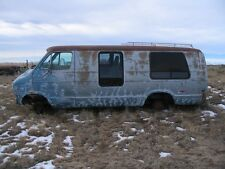 77 1977 Dodge MaxiVan automatic-not quite complete parts van-NO RESERVE!!-