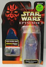 Darth Sidious Holograph Episode I Star Wars Comm Tech Action Figure NIP Hasbro