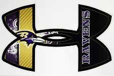 Under Armour Baltimore Ravens Football Truck/Window Decals Sticker- 11.5 x 7.5""