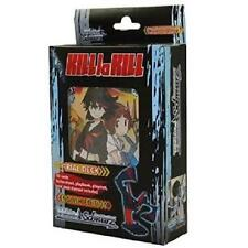 Weiss Schwarz KILL LA KILL English Trial Deck Starter Weib Gold Foil Inserts 1:6