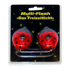 01476 multi-flash IL TEMPO LIBERO LUCE LED incl. batterie in coppia COCCINELLA