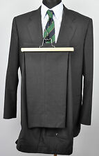 CORNELIANI 100'S Wool Suit 42 UK Blazer Pants W36 L32 Charcoal Jacket EUR 52