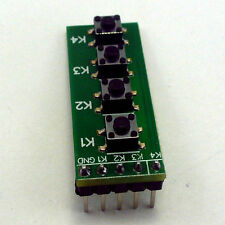 Key pad for FPGA CPLD Altera EP4EC6 EPM240 EPM570 Xilinx XC6SLX9 development kit