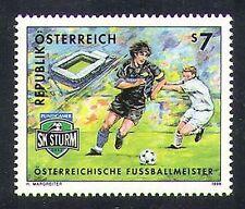 Austria 1999 Fútbol/Soccer/Deportes/SK Sturm Graz/Juegos 1v (n37652)