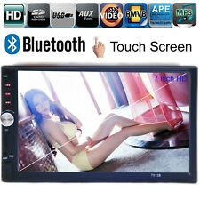 "Touch Screen 2 DIN 7"" Car Stereo Radio MP3 Player Bluetooth FM/USB/AUX Handsfree"