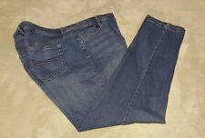 WOMEN'S STYLE & CO PLUS JEANS 16W SLIM LEG