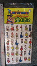 The FLINSTONES 3-D Character Stickers (c)1977 HBP #1034 Sealed Pkg of 36 each 2""