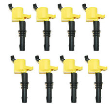 FD508 HIGH PERFORMANCE Ignition Coil FITSLINCOLN, NAVIGATOR,MERCURY Set of 8