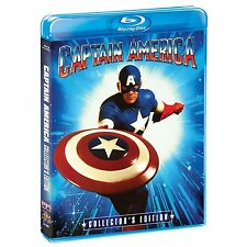 CAPTAIN AMERICA (Collector's Edition) Darren McGavin  -  Blu Ray -  Region free