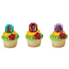 24 ELENA OF AVALOR Cake Cupcake Rings Birthday Party Toppers Favors NEW