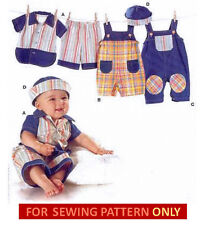 BURDA SEWING PATTERN! MAKE BABY BOY SHIRT~PANTS~OVERALLS~SAILOR HAT~OUTFIT!