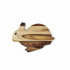 RABBIT CHOPPING / SERVING BOARD - MADE OUT OF ACACIA WOOD - 35 X 25 X 1.5 CM