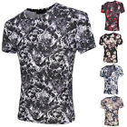 Stylish Mens Slim Fit Muscle Crew Neck Tee Top Shirt Casual Short Sleeve T-Shirt