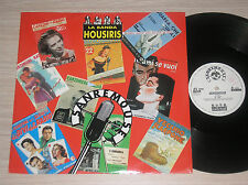 "LA BANDA HOUSIRIS - SANREMOUSE - MAXI-SINGLE 12"" ITALY"