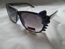 Princess Couture Kitty sunglasses. New. Black and purple.