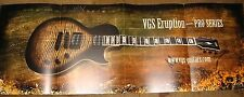 VGS guitar brochure VGS Eruption - PRO Series poster